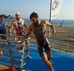 Serrano Swim exit acuatlón