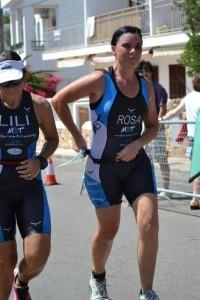 Lili y Rosa running
